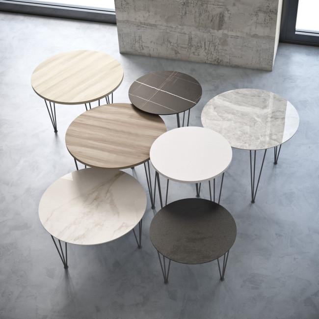 tavolini-salotto-rotondi-alti-bassi-piramide-wood